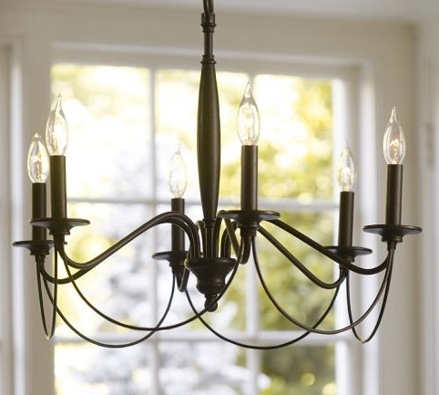 Pottery Barn Graham Chandelier